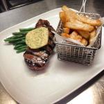 Sirloin Steak with cafe de paris butter