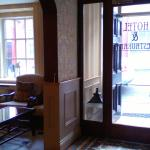 Inside the front door at reception