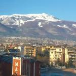 Vista del Monte Vitosha desde la habitacion