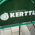 Kerttu sign guides in
