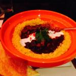 Moroccan Lamb Tagine with Prune and Cinnamon– Tender pieces of lamb and seasonal vegetables. We