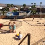 Playground at the finca