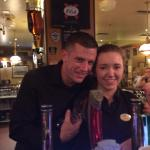 The greatest bartender ever...and his colleague