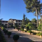Die Auffahrt zum Hotel