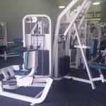 BEST fitness accommodations of any Wyndham hotel I've ever stayed at -- access to a full gym acr