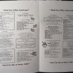 Inside of to go menu. Prices may need updating. See second photo for more.
