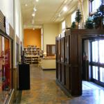 Front hall displays - Old Post Office Museum