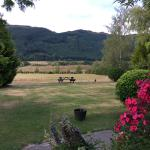 View from the Front Garden of The Remarkables, Willowby Downs, Arrowtown, New Zealand