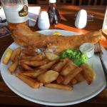 Proper fish and chip!
