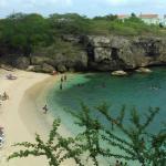 Vista para a praia Lagun
