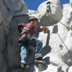 climbing wall main lodge