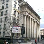 The opera building, general view