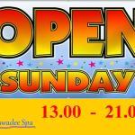 Open Every Sunday