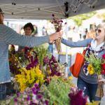 Carmel Farmers Market. Find local goods on Saturdays May-September.