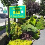 Front garden abd BnB Sign