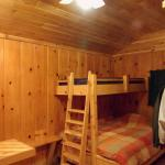 Inside 3 person cabin