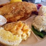 Fried Catfish and Mac and Cheese!!!! Amaaaaaaazing!!!!