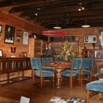Huey and Rose Long's dining room furniture