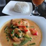 Phad Panang with Shrimp