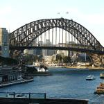 Harbour Bridge from Cafe Sydney
