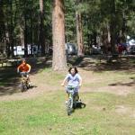 Fun on bikes!
