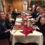 Family dinner in the Zirbenstube