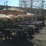 Mittagessen an der Sonne