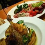 Duck Confit and Cold Platter