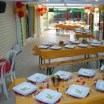 Grande salle accueil de groupes et mariage du Camping Les Chalands Fleuris