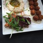 Falafell plate from the daily menu!