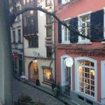 Kreuzblume Hotel Freiburg - view from our room
