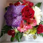 Bouquet de fleurs commandé pour ma femme