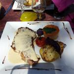 Magret et bavette sauce roquefort ��