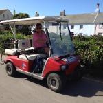 Golf cart in St Marys