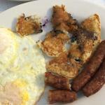 Bonnie's - 2   (Blueberry pancakes)