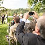 Wedding Ceremony on Pond