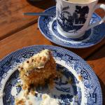 Great coffee, amazing carrot cake!