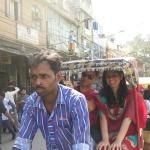 Travel in Cycle Riksha