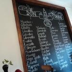 ingredientes usados pela cozinha do Don Toribio
