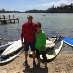 Paddle boarding in Melbourne Florida !  April 2015