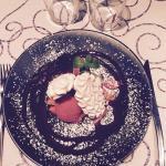 Délice meringué aux fraises