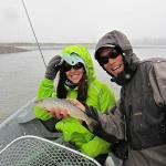 On the snowy Snake River with Josh Gallivan
