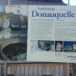 Donauquelle in Renovation