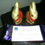 Easter gift from the cleaners :)