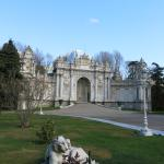 Gates at Dolmabahce Palace