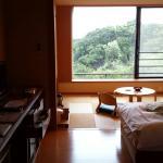 和洋室210号室 と窓からの眺め