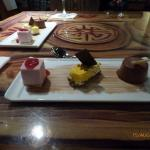 our trio of deserts