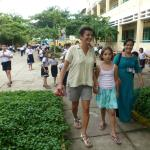 at Phudong primary school