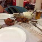 Rougai de saucisses et poulet