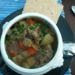 Reindeer soup - starter